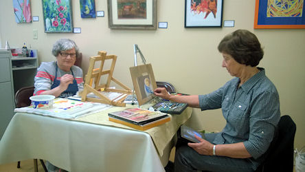 Promoting community arts at Brush & Palette Art Gallery